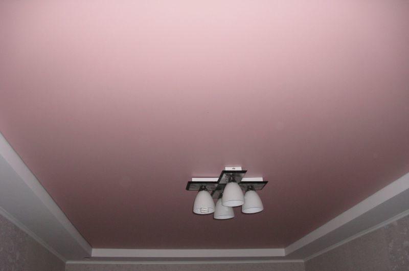 Матовый натяжной потолок №2