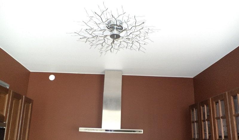 Матовый натяжной потолок №4