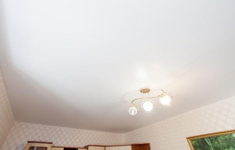 Матовый натяжной потолок №6