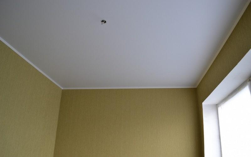 Матовый натяжной потолок №8