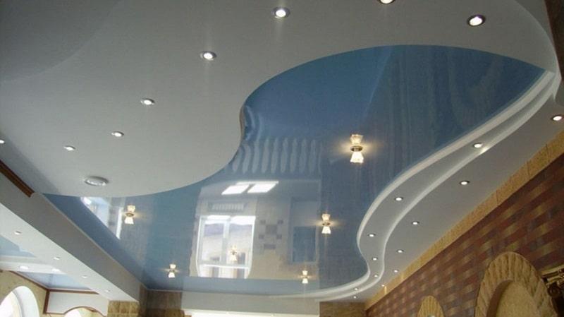 многоуровневые-натяжные-потолки-№3
