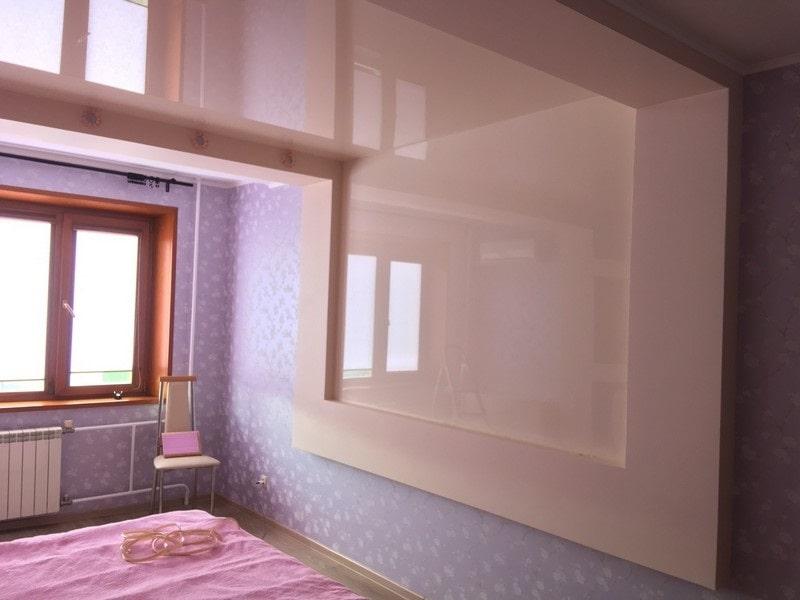 Натяжной потолок на стену №2