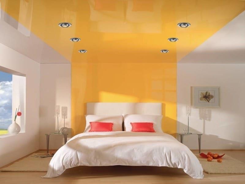 Натяжной потолок на стену №3