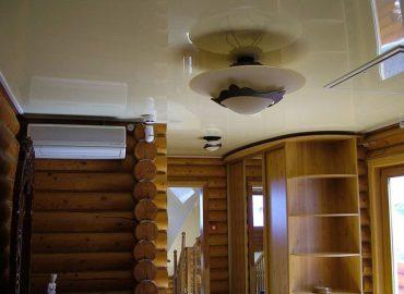 Натяжной потолок в частном доме №3