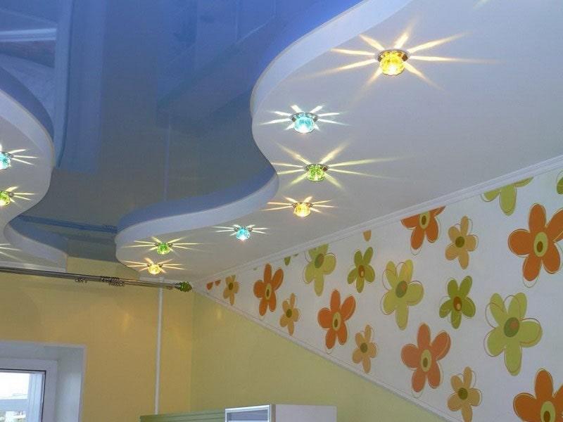 Натяжной потолок в детскую комнату №6