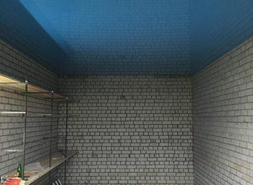 Натяжной потолок в неотапливаемом помещении №3