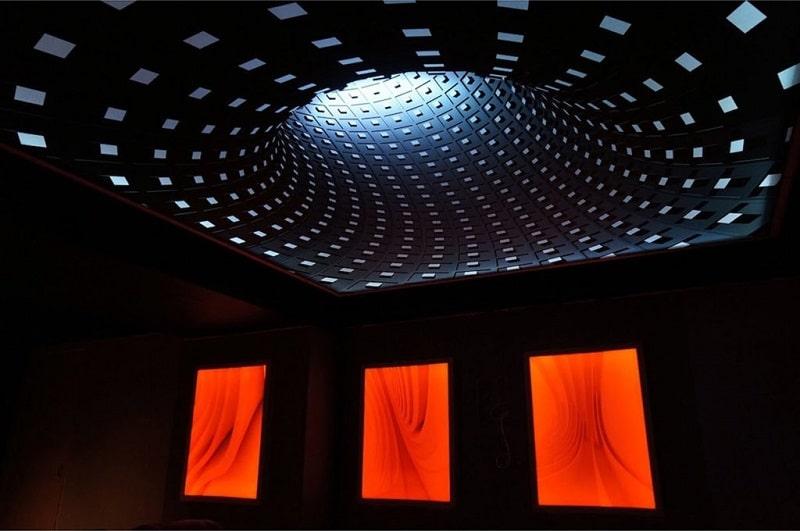 Натяжные потолки 3D №2