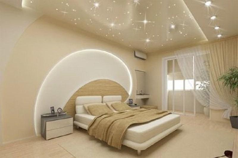 натяжные потолки звёздное небо №3