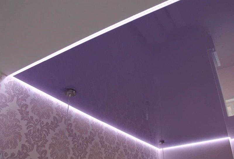 Парящие натяжные потолки №4