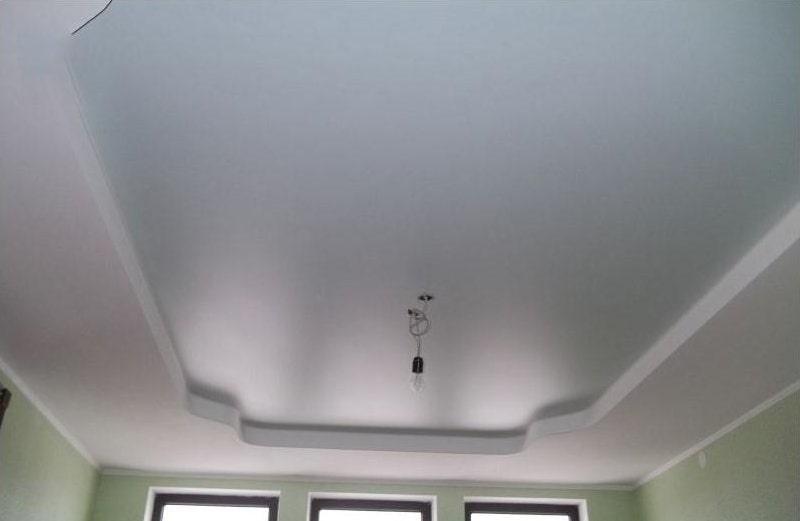 SatinСатиновый натяжной потолок №3ovyj-natyazhnoj-potolok-№3