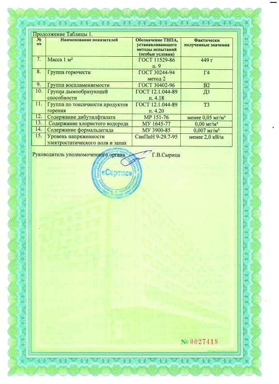 Сертификат MSD - 4