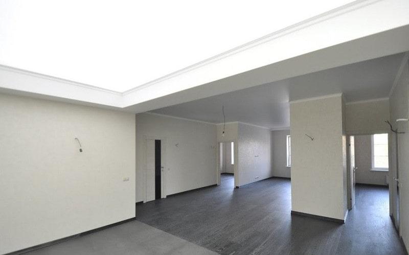 Полупрозрачный натяжной потолок №5
