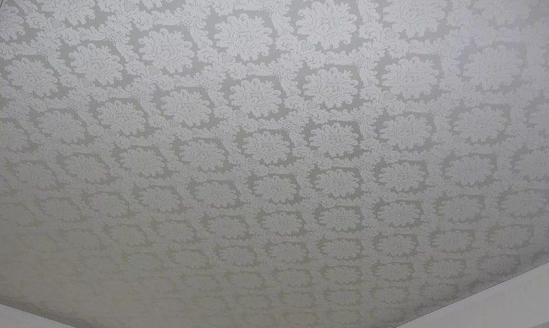 Тканевый натяжной потолок №1