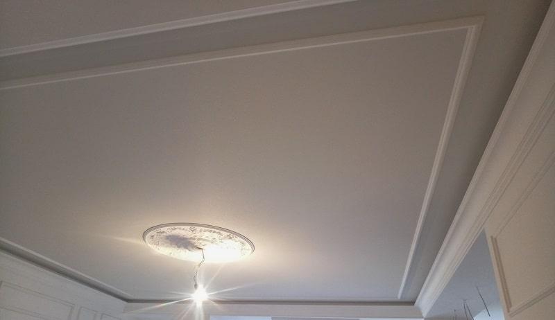 Тканевый натяжной потолок №2