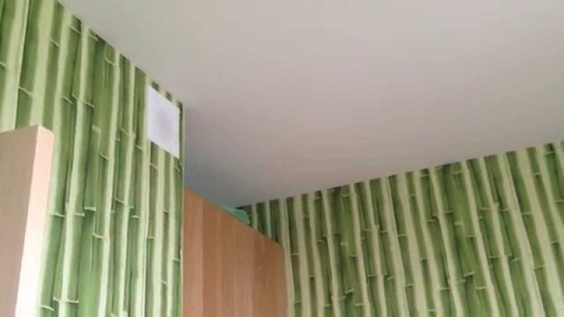 Тканевый натяжной потолок №3